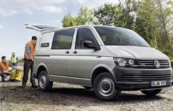 Volkswagen Transporter Pro Cab L2H1 204 ch 2.0 TDi Euro 6 Business Line